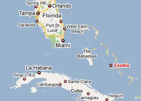 Exuma Bahamas Map Exuma, Bahamas Water Tours