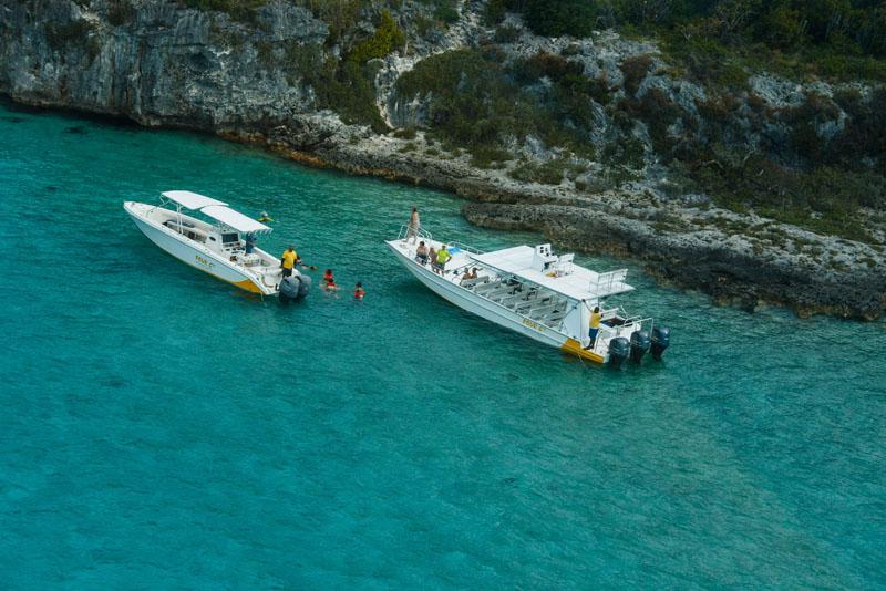 Nassau Bahamas Exuma Cays Water Tours Excursions & Swimming Pigs